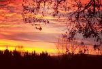 Sunrise over Princeton, WV
