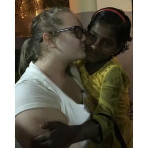 Allie in India 1