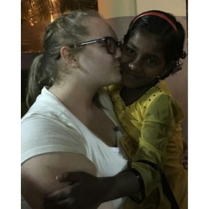 Allie in India 1